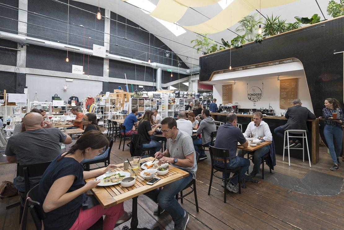 Café de la fonderie Fribourg
