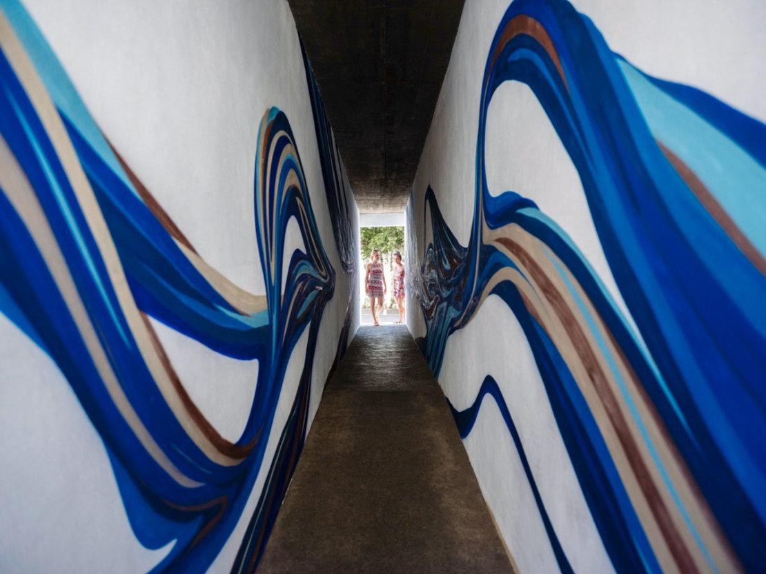 Artichoke festival couloir